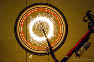 Sparklers and Bicycles
