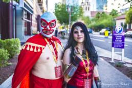 Nacho Libre & Wonder Woman